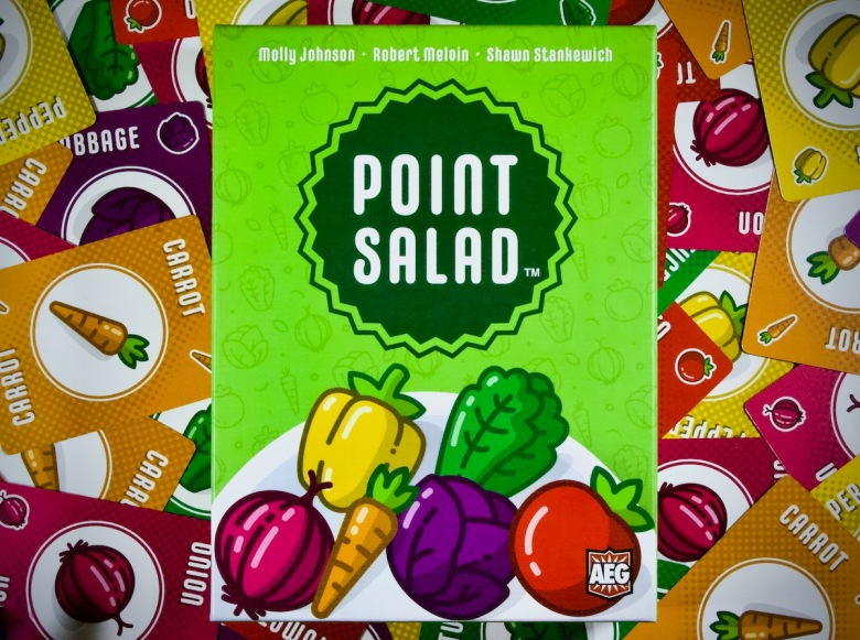 Box Cover art for Point Salad by AEG, Flatout Games