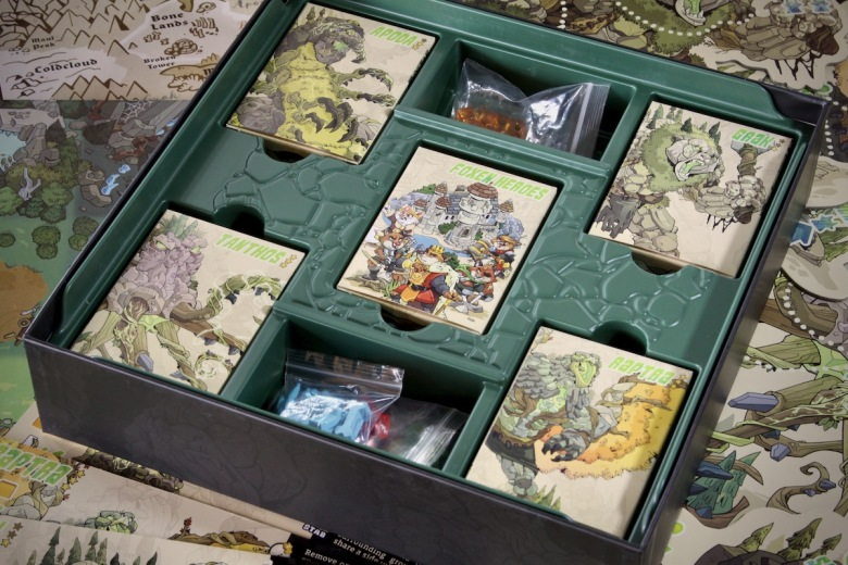 Very nice box insert for Skulk Hollow by Pencil First Games