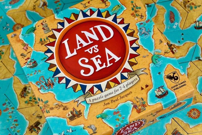 Land vs. Sea box cover and tiles