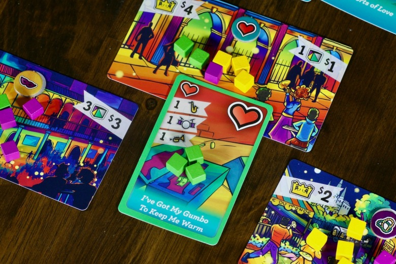 Song Card played to a location in New Orleans in Big Easy Busking by Good Giraffe Games